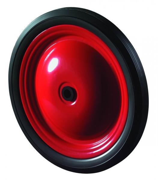 Stahlscheibenräder A70 Lauffläche PVC-Reifen schwarz Radkörper Stahlfelge Gleitlager BS Rollen