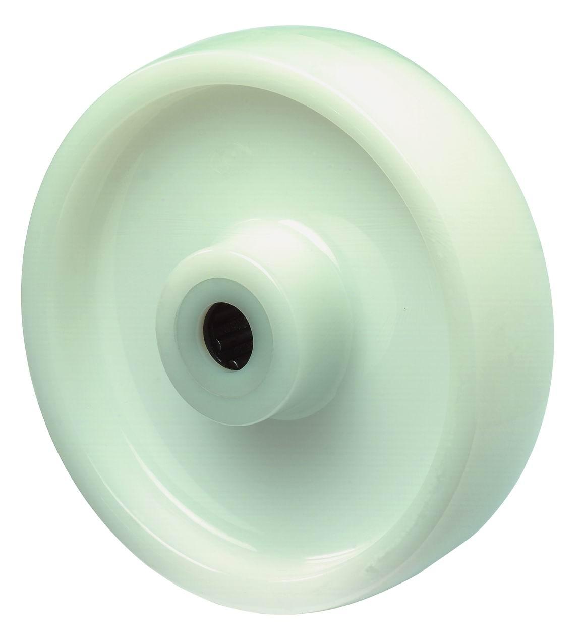 BS ROLLEN Rad zu B10 Durchmesser 150mm Tragfähigkeit 400kg Kunststoffrad weiß