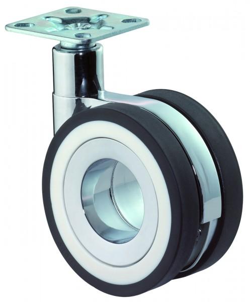 Design-Doppelrolle Plattenbefestigung F370