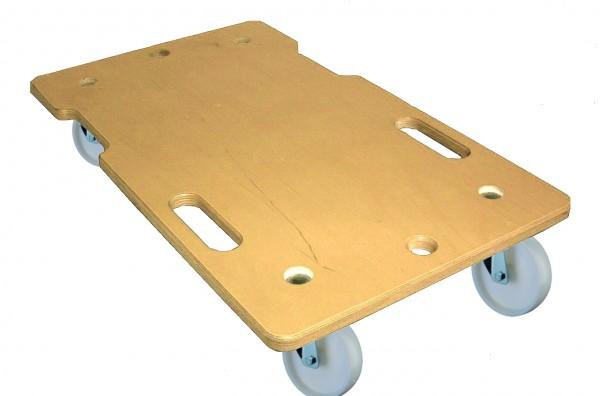 A.Roller.350 Allzweckroller Kunststoffrad Holz
