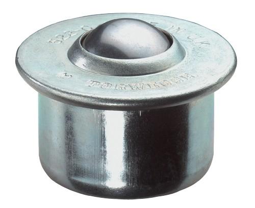 Kugelrolle E32 Gehäuse Stahl Kugeln Stahl Oberfläche verzinkt BS Rollen