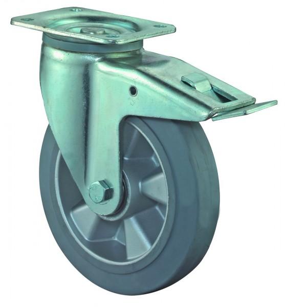 Schwerlastrolle Lenkrolle mit Bremse L620.B83